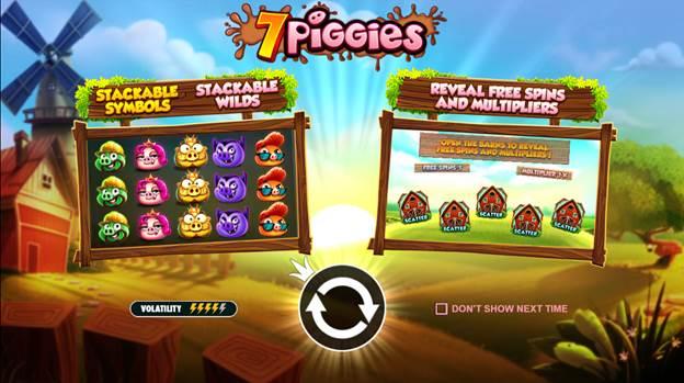 การจ่ายเงินของเกม 7 PIGGIES