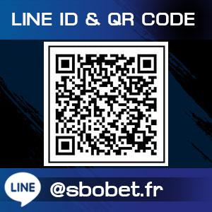 LINE ID @ QR COED สมัครเว็บพนัน SBOBET